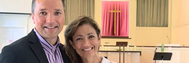 Pastor Robert and Beatriz Bloodworth